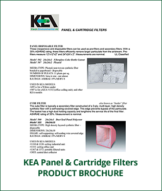 KEA Panel & Cartridge Filters